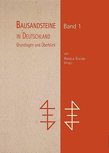 9783510959822: Bausandsteine in Deutschland Band 1