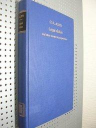 Legal duties and other essays in jurisprudence.: Allen, Carleton Kemp.