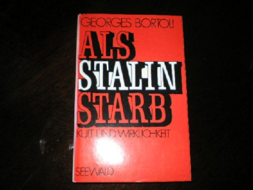 9783512003431: Death of Stalin.