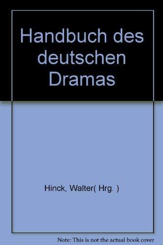 9783513024404: Handbuch des deutschen Dramas