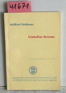 9783515020909: Cornelius Severus (Abhandlungen der Geistes- und Sozialwissenschaftlichen Klasse, Akademie der Wissenschaften und der Literatur ; Jahrg. 1975, Nr. 6) (German Edition)