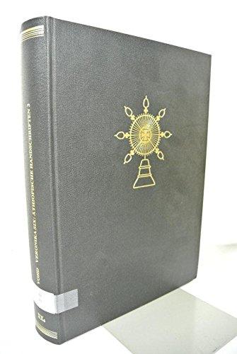 9783515030359: Athiopische Handschriften vom Tanasee Teil 3 nebst einem Nachtrag zum Katalog der Athiopischen Handschriften deutscher Bibliotheken und Museen ... in Deutschland (Vohd)) (German Edition)