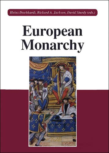 9783515062336: European Monarchy: Its Evolution and Practice from Roman Antiquity to Modern Times (German Edition)