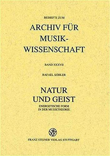Natur und Geist: Rafael K�hler