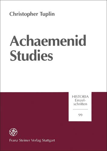 9783515069014: Achaemenid Studies
