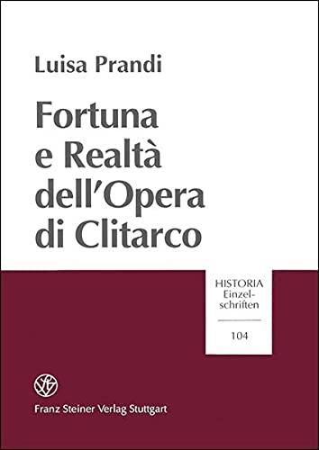 9783515069472: Fortuna E Realta Dell
