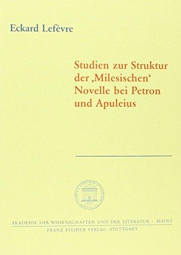 9783515071819: Studien zur Struktur der