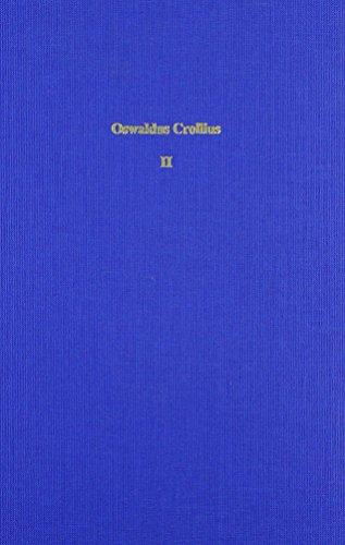 9783515072588: Oswaldus Crollius: Alchemomedizinische Briefe 1585 Bis 1597. Ausgewahlte Werke Band Ii.