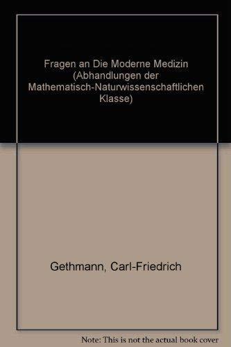 Fragen an die moderne Medizin: Karl-Hermann Meyer zum Büschenfelde