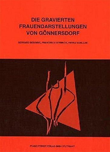 9783515077996: Die Gravierten Frauendarstellungen Von Gonnersdorf (Der Magdalenien-Fundplatz Gonnersdorf (Mfg))