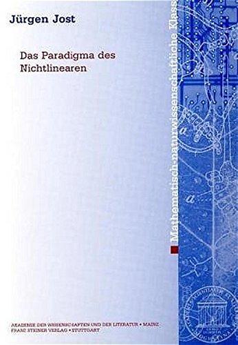 9783515084482: Das Paradigma Des Nichtlinearen (Abhandlungen Der Mathematisch-Naturwissenschaftlichen Klasse (Am-Mn))