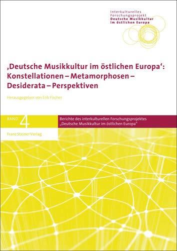 Deutsche Musikkultur im östlichen Europa: Erik Fischer