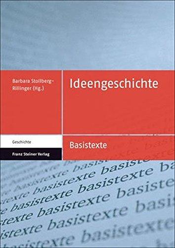 9783515094474: Ideengeschichte (Basistexte Geschichte)