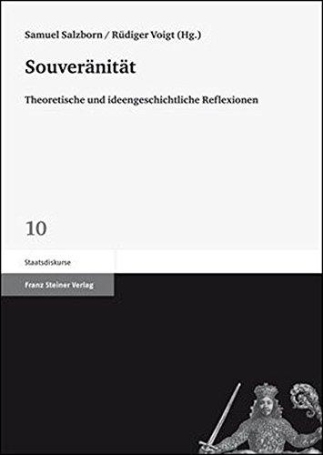 9783515097352: Souver�nit�t: Theoretische und ideengeschichtliche Reflexionen (Staatsdiskurse)