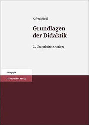9783515098014: Grundlagen der Didaktik