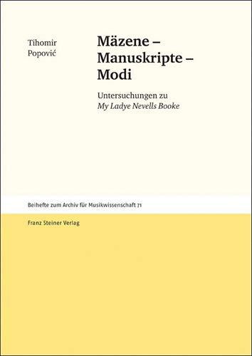 Mäzene - Manuskripte - Modi: Tihomir Popovic