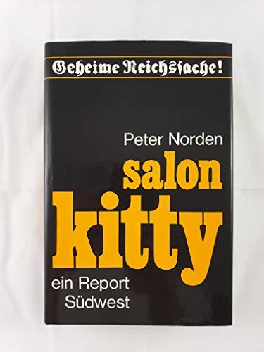 9783517000251: Salon Kitty. Ein Report (Livre en allemand)