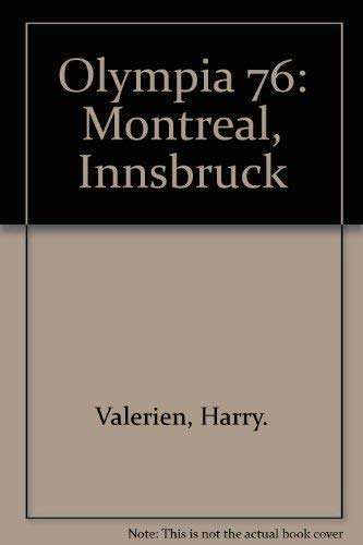Olympia 76: Montreal, Innsbruck (German Edition): Unknown