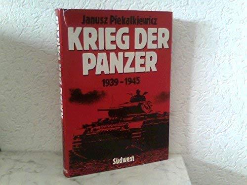 9783517007533: Krieg der Panzer: 1939-1945