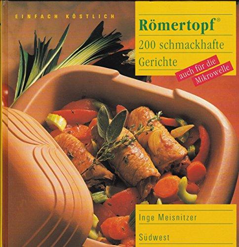9783517012001: Römertopf. 110 schmackhafte Gerichte, auch für Mikrowelle
