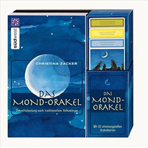 9783517083896: Das Mond-Orakel Set: Zukunftsdeutung nach traditionellem Volkswissen