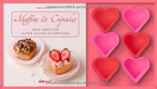 Muffin & Cupcakes. Neue Ideen für kleine Kuchen & Törtchen mit Muffinförmchen. - Haupt, Anne