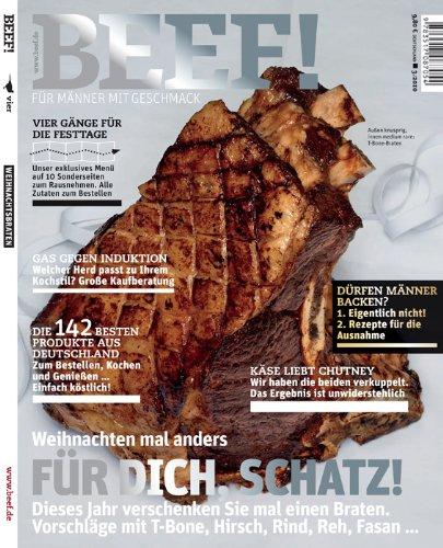 9783517087054: BEEF! - Für Männer mit Geschmack. Ausgabe 3/2010