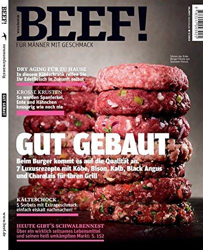 9783517093925: BEEF! - Für Männer mit Geschmack: Ausgabe 5/2015