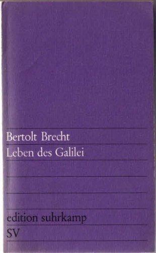 9783518000014: Leben des Galilei,