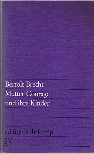 9783518000496: Mutter Courage Und Ihre Kinder