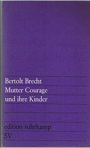 9783518000496: Mutter Courage Und Ihre Kinder
