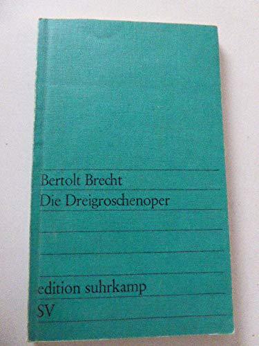 9783518002292: Die Dreigroschenoper
