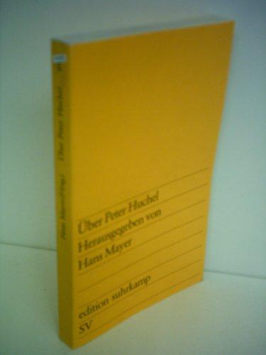 9783518006474: Über Peter Huchel