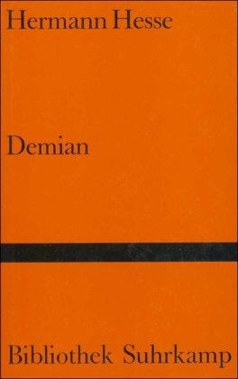9783518010952: Demian: Die Geschichte von Emil Sinclairs Jugend