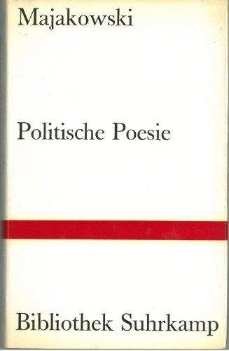 Politische Poesie.: Majakowski, Wladimir