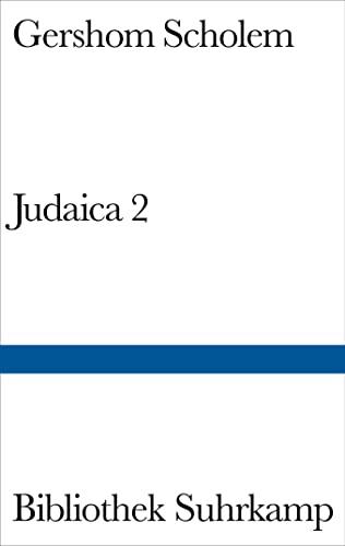 9783518012635: Judaica 2