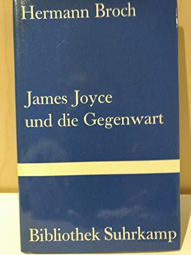 9783518013069: James Joyce Und Die Gegenwart