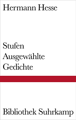 9783518013427: Stufen: Ausgewählte Gedichte