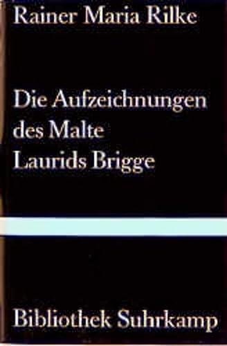 9783518013434: Die Aufzeichnungen DES Malte Laurids Brigge