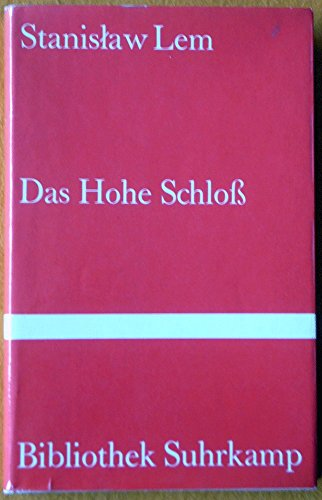 9783518014059: Das Hohe Schloss