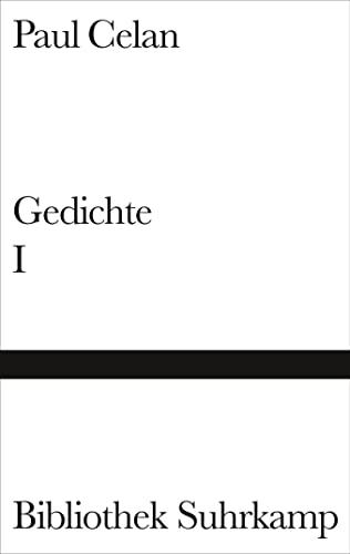 Gedichte in zwei Bänden, Band I: Mohn und Gedächtnis, Von Schwelle zu Schwelle, Sprachgitter, Die Niemandsrose, - Celan, Paul