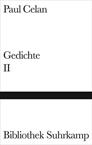 Gedichte in zwei Bänden, Band 2 - Paul Celan