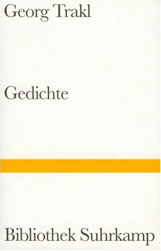 Gedichte: Trakl, Georg