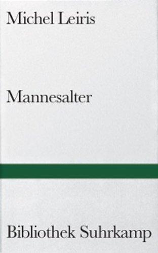9783518014271: Mannesalter.