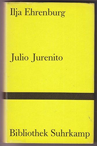 9783518014554: Julio Jurenito. Roman