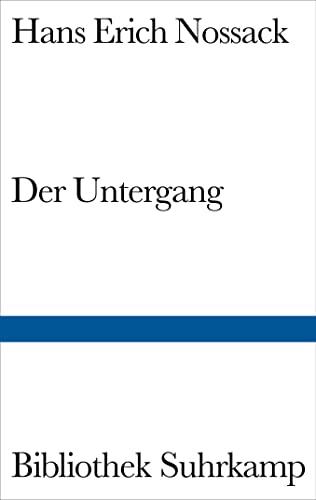9783518015230: Der Untergang.