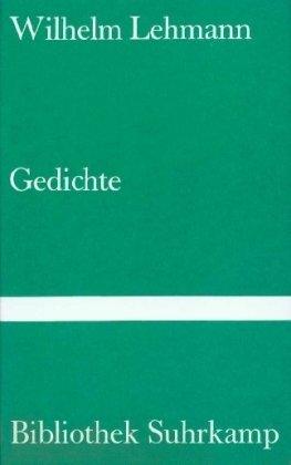9783518015469: Gedichte. ( = Bibliothek Suhrkamp, 546) .