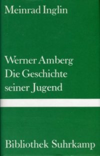 Werner Amberg: Die Geschichte seiner Jugend. Roman.: Inglin, Meinrad: