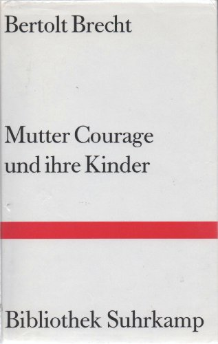 9783518017104: Mutter Courage und ihre Kinder