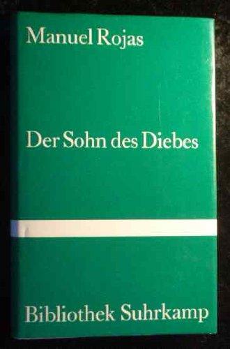9783518018293: Der Sohn des Diebes. Roman